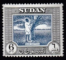 Sudan 1951 / Gum Tapping / Local Motives / Mi 143 / MNH - Sudan (...-1951)
