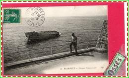 BIARRITZ - MIARRITZE -Devant L'Immensité (recto Verso) - Biarritz
