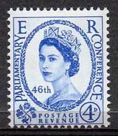 GREAT BRITAIN 1957 46th Inter-Parliamentary Union Conference - Nuovi
