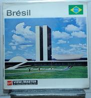 VIEW MASTER  :   BRÉSIL  B 065  :  POCHETTE DE 3 DISQUES - Visionneuses Stéréoscopiques