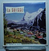 VIEW MASTER  :  LA SUISSE  C 160 :  POCHETTE DE 3 DISQUES - Visionneuses Stéréoscopiques