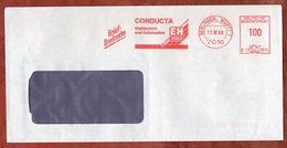 Briefdrucksache, Francotyp-Postalia B23-8914, E+H Conducta, 100 Pfg, Gerlingen 1990 (93266) - BRD