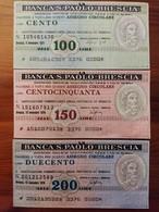 MINIASSEGNO BANCA S.PAOLO-BRESCIA - [10] Assegni E Miniassegni