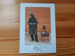 Postcard, China - People, Portraits Of Inhabitants In The Yellow River, Mint - China