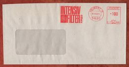 Brief, Francotyp-Postalia B23-8830, Intensiv-Filter, 100 Pfg, Velbert 1991 (93270) - BRD