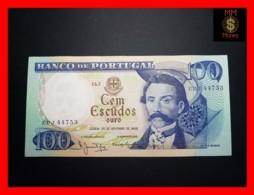 PORTUGAL 100 Escudos 30.11.1965  P. 169   UNC- - Portugal
