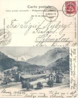 Interlaken - Bahnhof West           1915 - BE Berne