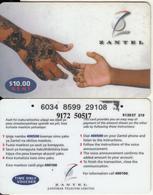 ZANZIBAR - Hands, ZANTEL Prepaid Card $10, Used - Autres - Afrique