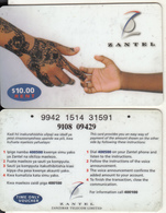 ZANZIBAR - Hands, ZANTEL Prepaid Card $10, Used - Télécartes