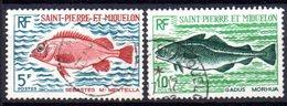 Saint Pierre Et Miquelon: Yvert N° 423/424° - St.Pierre Et Miquelon