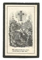 Faire Part De Décès Justine Bodart Aische-en-Refail Eghezée 1883 - Andachtsbilder