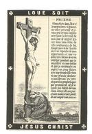 Faire Part De Décès Lucien Collette Thorembais-Les-Béguines 1884 - Andachtsbilder