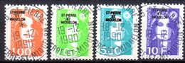Saint Pierre Et Miquelon: Yvert N° 523/526° - St.Pierre Et Miquelon