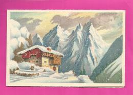 CP Double - BARRE-DAYEZ N° 12446 B Chalet De Montagne - Barday