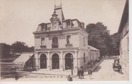 CPA Bayonne - La Gare Du B. A. B. (avec Animation) - Bayonne
