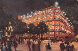 75 - PARIS La Nuit - Bd Poissonnière - Parijs Bij Nacht