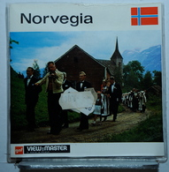 VIEW MASTER  : NORVEGIA  C 5008 :  POCHETTE DE 3 DISQUES - Visionneuses Stéréoscopiques