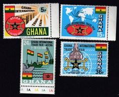 Ghana 1967 / International Trade Fair, Accra / Mi 279-282 / MNH - Ghana (1957-...)