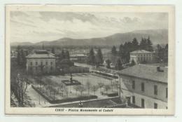 CIRIE' - PIAZZA MONUMENTO AI CADUTI - NV FP - Italy