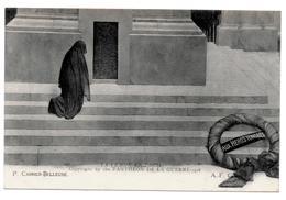 TML-69, Postcard, Pantheon De La Guerre - La Femme En Deuil FREE DELIVERY - Monuments Aux Morts
