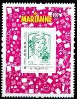 ADHESIF N° 864A MARIANNE EN 3D NEUF ** - France