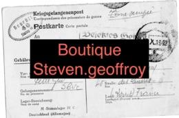 Camp De Prisonniers- Kriegsgefangenenlager - Lettre Colis Camille Petit / Guy / Beaugency 11/10/1942 Novembre Loiret - 1939-45