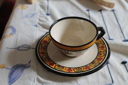 Tasse Et Sous Tasse Bretonne - Cups