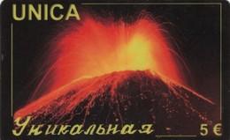 *ITALIA* - Scheda Usata - Volcanes