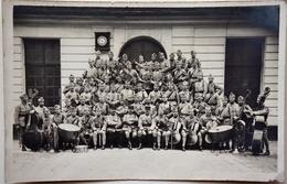 """Carte-Photo - Musique Militaire Française """"103"""" Sur Les Cols -  /M107 - Ohne Zuordnung"""