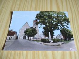 Billy (41).L'église Et La Place. - France