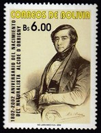 Bolivia 2002 / 200th Anniversary Of The Birth Of Alcide D'Orbigny, Naturalist And Palaeontologist  / Mi 261 / MNH - Fossilien