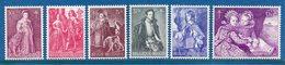 Belgique - YT N° 1307 à 1312 - Neuf Sans Charnière - 1964 - Belgique