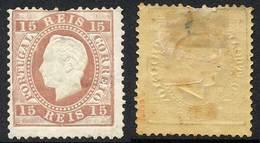 PORTUGAL / 1870 LUIZ I # 38a * SIGNE / COTE 110.00 EURO (ref T1797a) - 1862-1884 : D.Luiz I