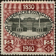Austria Scott #142, 1910, Hinged - 1850-1918 Imperium