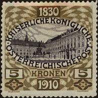 Austria Scott #143, 1910, Hinged - 1850-1918 Imperium