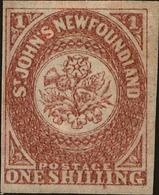 Newfoundland Scott #23, 1861, Hinged - Newfoundland