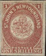 Newfoundland Scott #23, 1861, No Gum, Hinged - Newfoundland