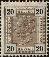 Austria Scott #98, 1905, Hinged - Neufs