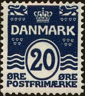 Denmark Scott #64, 1912, Hinged - 1905-12 (Frederik VIII)