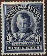 Newfoundland Scott #111, 1911, Hinged - 1908-1947