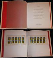 """Bund Europe: Ministerbuch / Minister-Präsentationsmappe Mi.-Nr. 2113: """" Europa 2000 """" RR ! - [7] République Fédérale"""