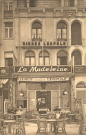 BLANKENBERGE : La Madeleine / Pub Bières Léopold / Privé-kaart - Blankenberge