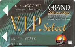 Grand Casino Coushatta - Kinder, LA - Slot Card - Casino Cards