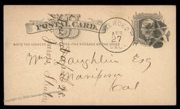 USA 1800s Boston Mass Negative Star Fancy Cancel Cover 95074 - Non Classés