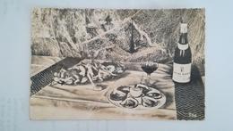 CPSM CIRCULEE EN 1961 - SAINTONGE FRUITS DE MER - Francia