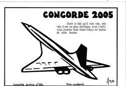 LARDIE (JIHEL) - A2 - Concorde 2005 - 1991 - Paris Tokyo - Illustrateurs & Photographes