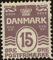 Denmark Scott #63, 1905, Hinged - 1905-12 (Frederik VIII)