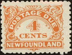 Newfoundland Scott #J4a, 1939, Never Hinged - Newfoundland