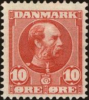 Denmark Scott #71, 1906, Hinged - 1905-12 (Frederik VIII)