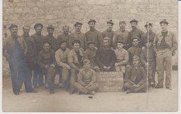 83 , Toulon , Les Rescapés Du Iéna , Les Mécaniciens , 1907 , Carte Photo - Toulon